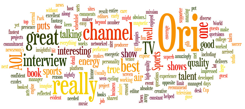 Testimonial Word Cloud