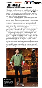 Salt Lake Magazine - Sept. 2010